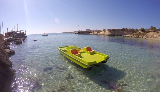 Rent A Paddle Boat In Protaras, Cyprus