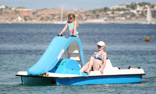 Rent A Paddle Boat In Paphos, Cyprus