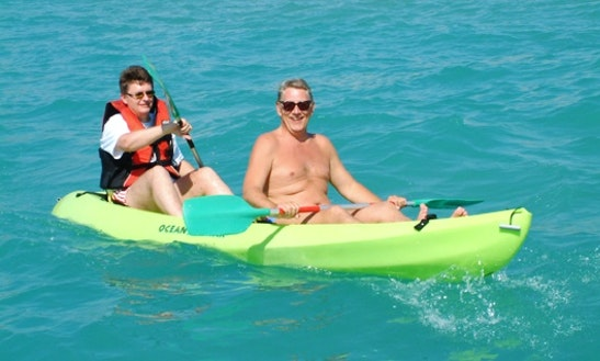 Rent A Double Kayak In Paphos, Cyprus