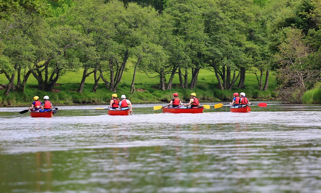 Intro & Improver Canoe Courses In Kingussie, Scotland
