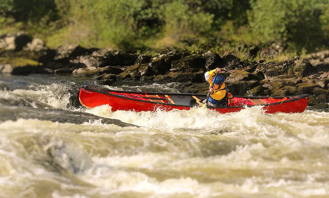 British Canoe Union Qualification Courses In Kingussie, Scotland