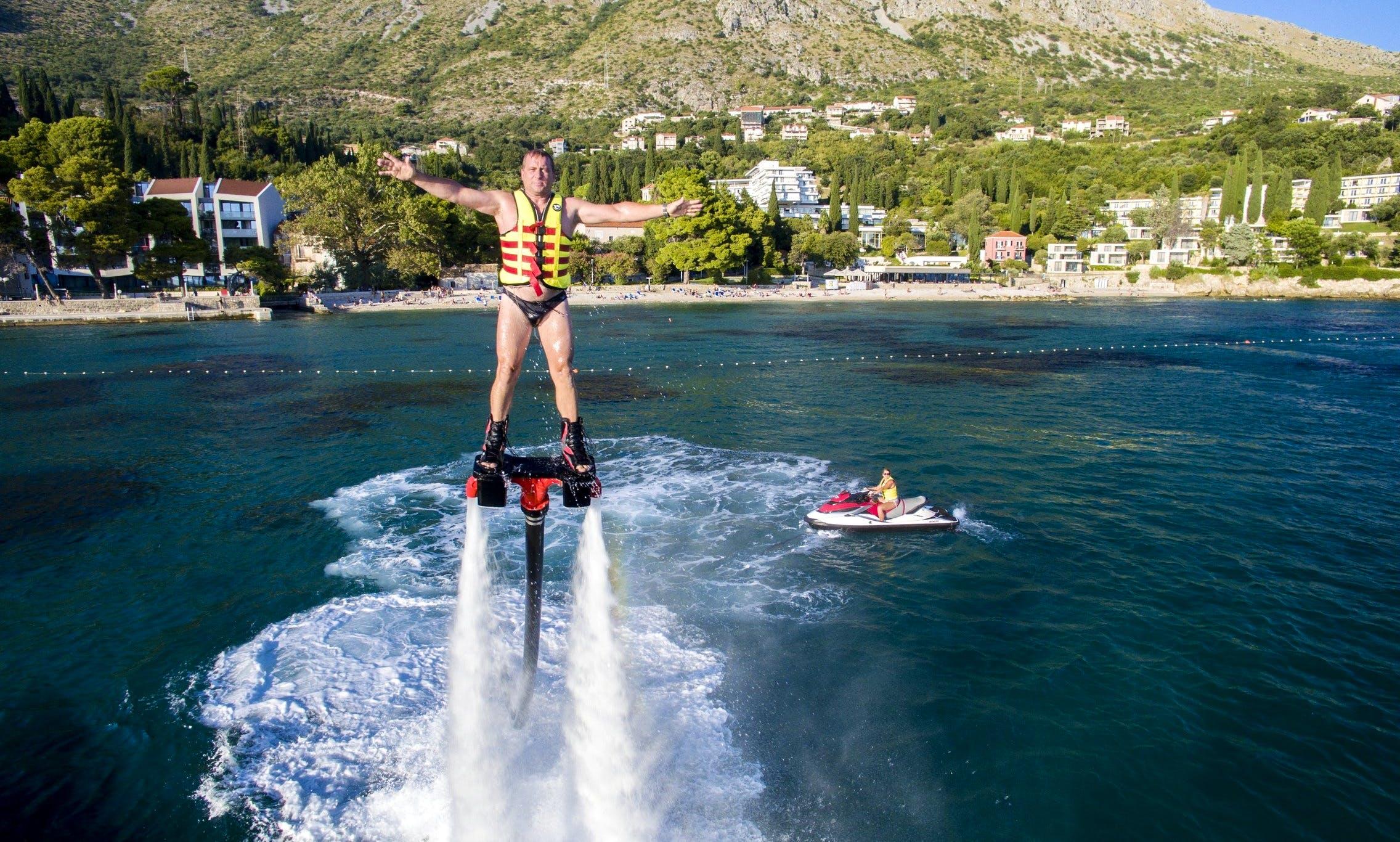 Flyboard Adventure in Dubrovnik, Croatia