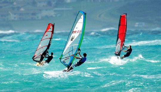 Windsurfing Lesson In Kailua, Hawaii