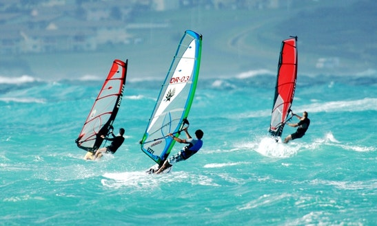 Windsurfing Lesson In Kailua, Hawaii