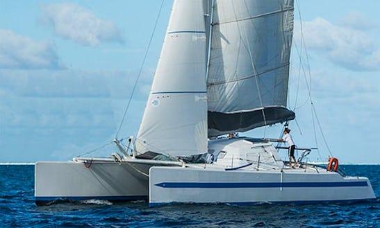 Charter 55' Cruising Catamaran In Uturoa, French Polynesia