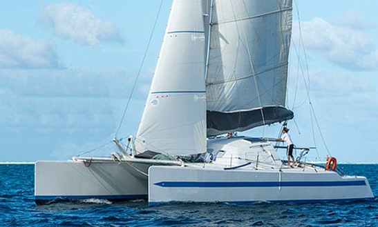 Charter 55' Cruising Catamaran In Uturoa, French Polynesia