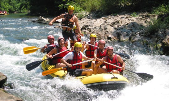 Enjoy Rafting Trips In Bidarray, France