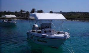 Book a Self-Drive Boat for 4 People in Il-Mellieħa, Malta