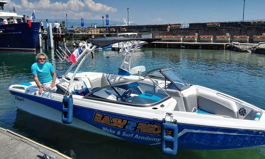 Charter a Bowrider in Yvoire, France
