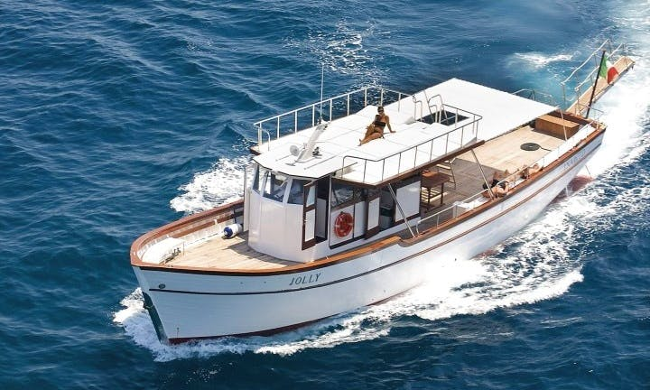 Charter Jolly Motor Yacht in Forio, Italy