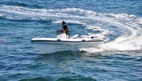 Rent Gommoni Rigid Inflatable Boat In Forio, Italy