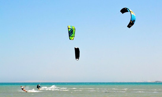 Enjoy Kiteboarding In Red Sea Governorate, Egypt