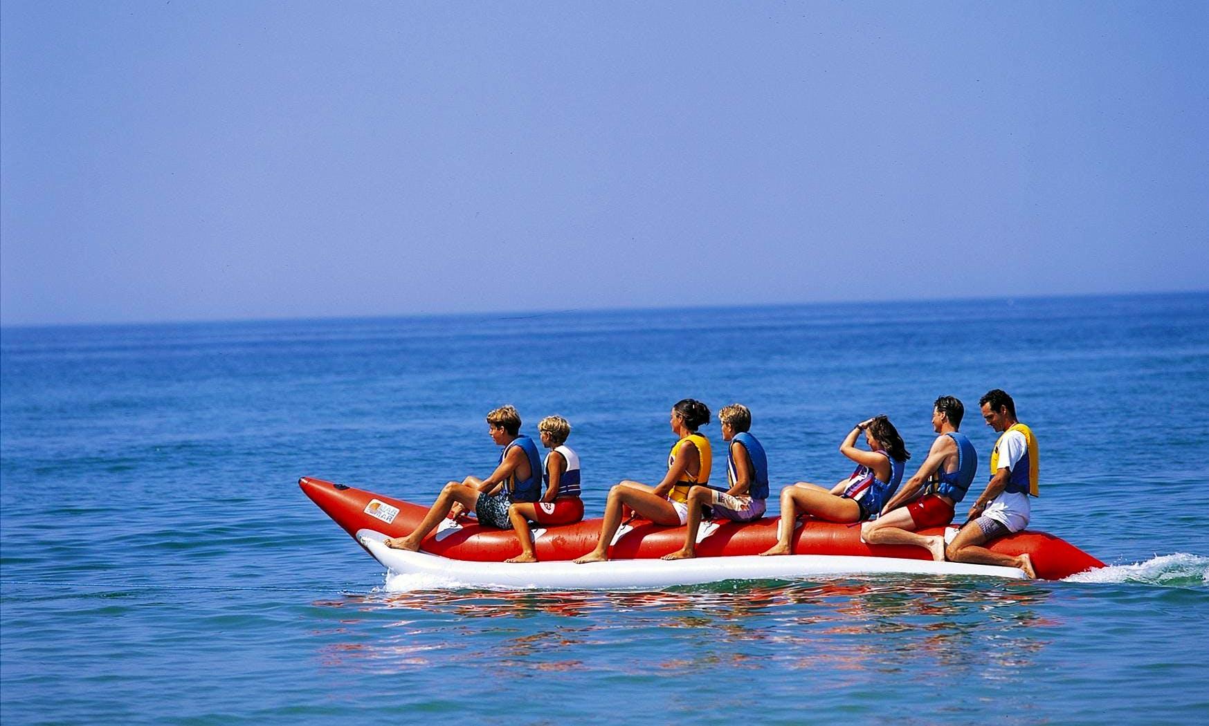Fun Banana Boat Rides for 15-Minutes in Faro, Portugal