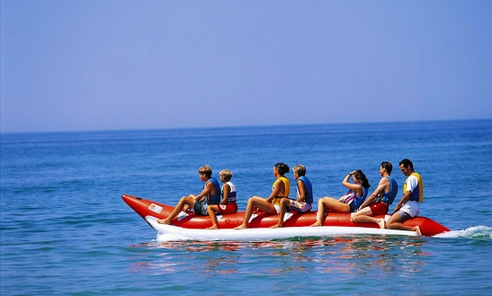 Fun Banana Boat Rides For 15-minutes In Faro, Portugal