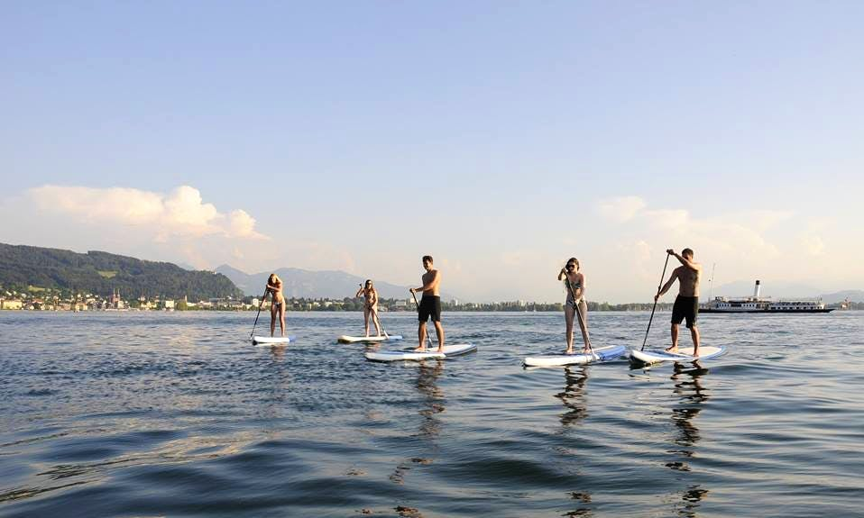 Enjoy Stand Up Paddleboard in Lochau, Austria