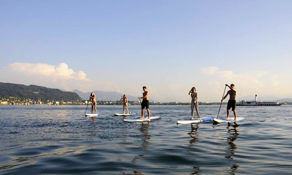 2 Hours Stand Up Paddleboard Trip in Lochau, Austria