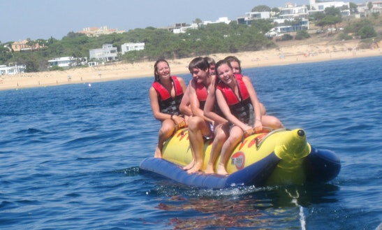 Enjoy Banana Boat Rides In Faro, Portugal
