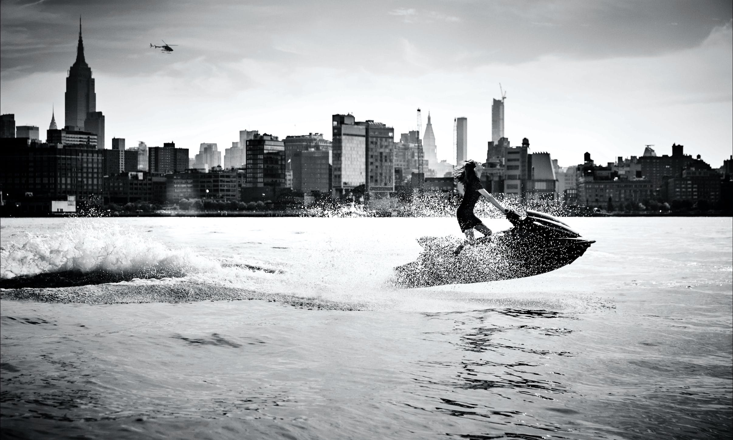 Jet Ski Tours on New York City Harbor