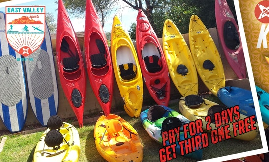 Kayaks For Rent In Mesa, Az