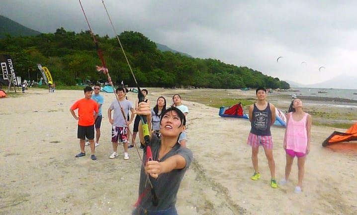 Kiteboarding Lesson In New Territories, Hong Kong
