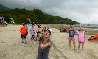 Kiteboarding Lesson In New Territories, Hong Kong