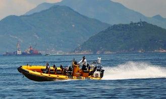 High Speed Power Boat Tour In Hong Kong