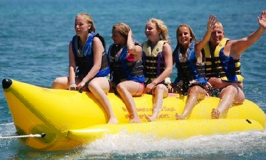 Enjoy Banana Boat Rides In Mesa Geitonia, Limassol