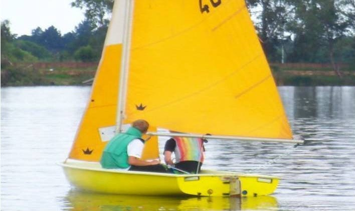 Rent a Gypsy Sailing Dinghy in Benoni, South Africa