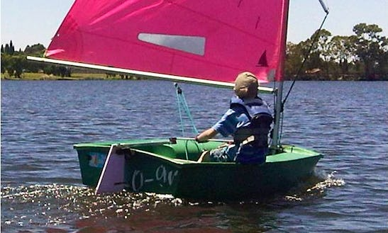 Rent A Optimist Child's Sailing Dinghy In Benoni, South Africa