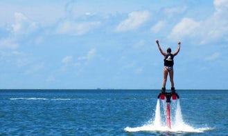 Enjoy Flyboarding in Mesa Geitonia, Limassol