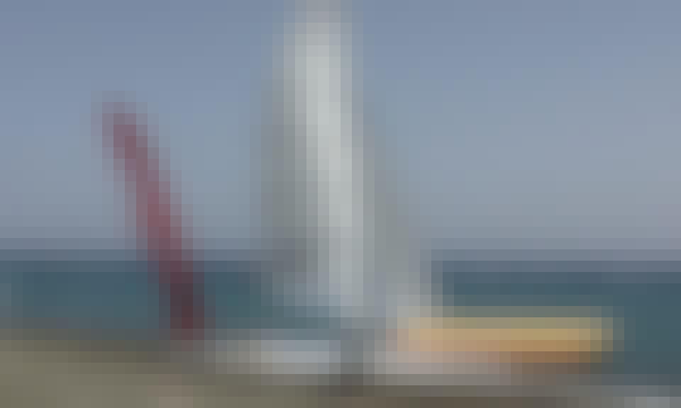 Rent a Beach Catamaran in Mesa Geitonia, Limassol