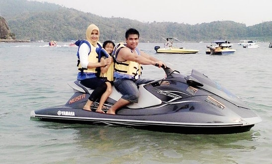 Three-seater Jet Ski Rental In Sumatera Barat, Indonesia
