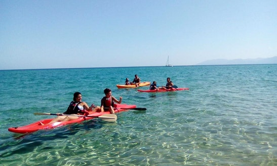 Enjoy Double Kayak Rentals In Orosei, Sardegna