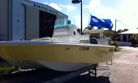 Rent This 18ft Everglades Center Console In Stuart, Florida