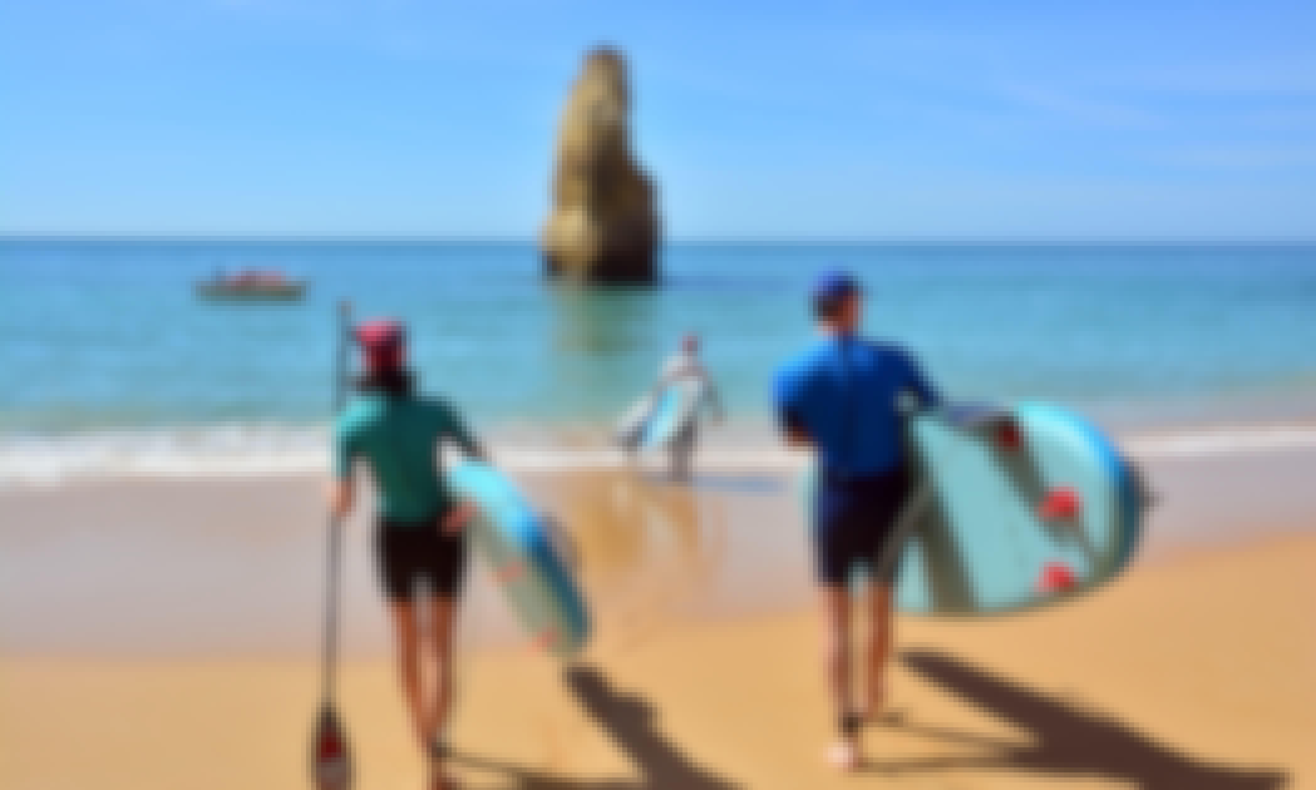 Stand Up Paddle board Tour at Benagil Caves