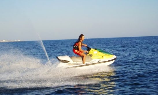 Riding And Renting A Jet Ski In Yeroskipou, Cyprus