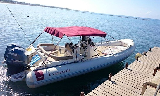 Rent A Rigid Inflatable Boat In Yeroskipou, Cyprus