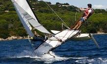 Rent 15' Hobie Cat Beach Catamaran in Genova, Liguria