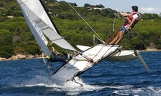 Rent 15' Hobie Cat Beach Catamaran In Genova, Liguria