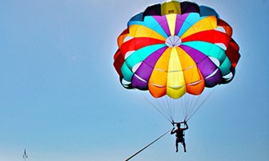 Enjoy Parasailing In Yeroskipou, Cyprus