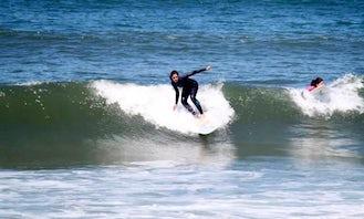 Enjoy Surfing Lessons in Vila Nova de Gaia, Portugal