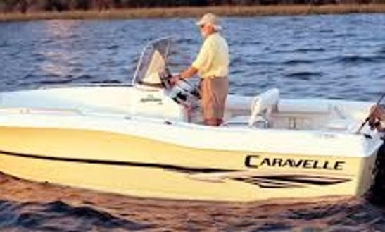 Rent The 21ft Caravelle Center Console In Stuart, Florida