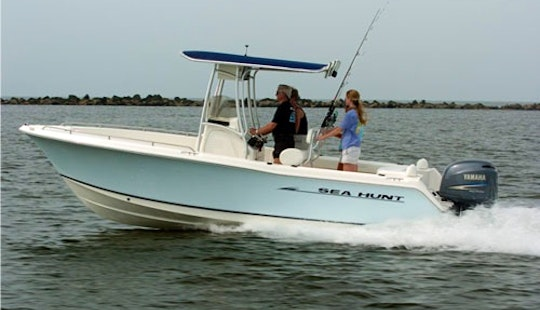 Enjoy The 21ft Seahunt Triton Center Console In Stuart, Florida