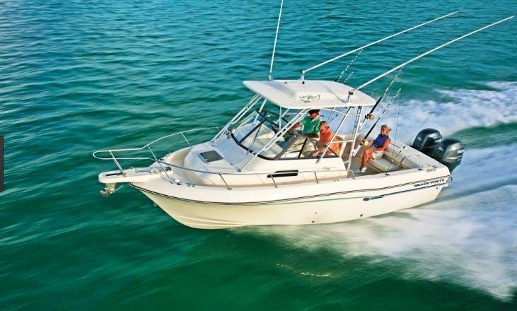 Rent this 23' Grady White Walk Around Boat in Stuart, Florida