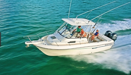 Rent This 23' Grady White Walk Around Boat In Stuart, Florida