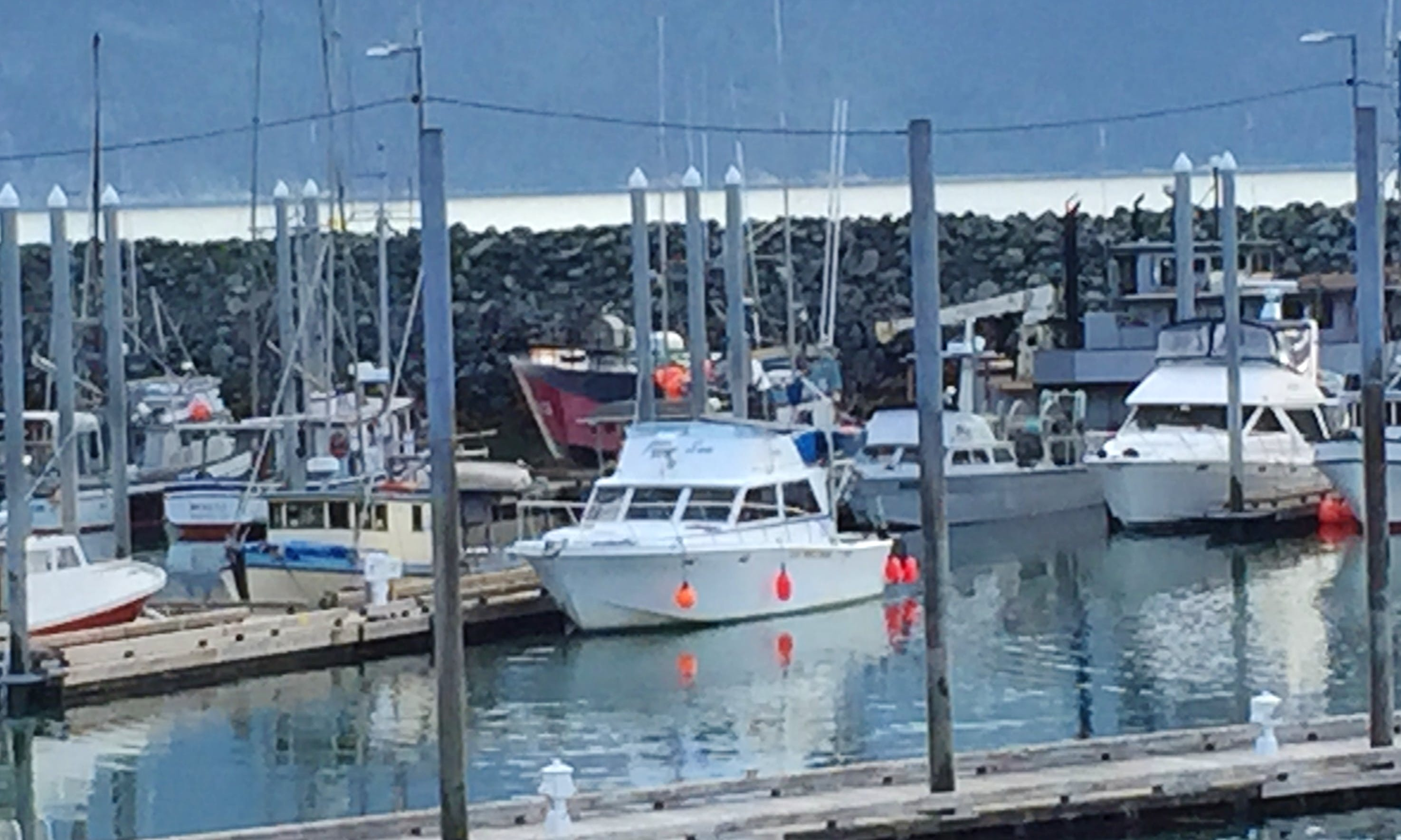 """Haines Fishing Charter on 42ft """"Peggy Sue"""" Fishing Boat with Captain Vinny"""