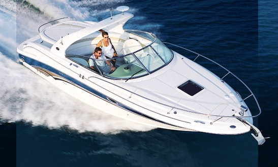 Skippered 30ft Sea Ray Twin-engine M. Yacht