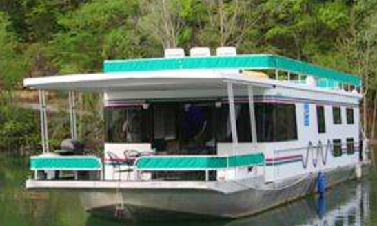 62' Houseboat Rental In Trempealeau, Wisconsin