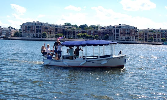 Be The Captain! Electric Boat Rental In Baltimore, Maryland
