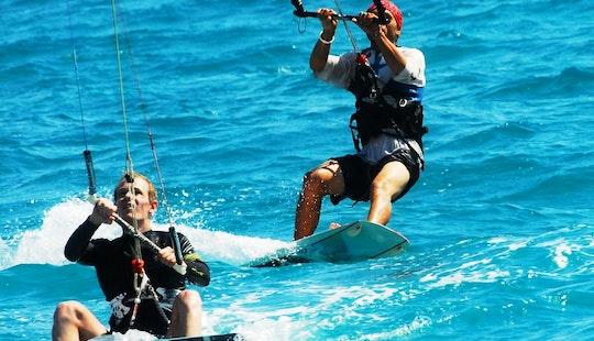 Enjoy Kiteboarding Lessons In Limasol, Cyprus